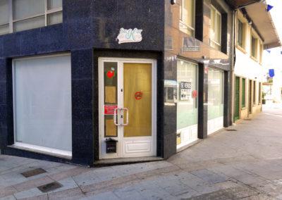 Bajo comercial en Rúa de Galicia